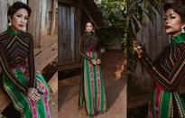 NTK hé lộ điều đặc biệt khi thiết kế áo dài thổ cẩm cho H'Hen Niê
