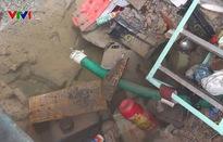 Vỡ đường ống cấp nước cho 3 quận, TP.HCM