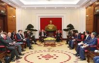 Thúc đẩy hợp tác thương mại Việt Nam - Đức