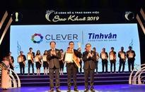 Phần mềm đào tạo trực tuyến Clever của Tinh Vân nhận danh hiệu Sao Khuê 2019