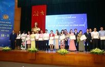 Đài Truyền hình Việt Nam nhận 2 giải thưởng báo chí về Khoa học và Công nghệ năm 2018