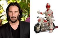 """Sát thủ """"giải nghệ"""" Keanu Reeves đổi nghề làm siêu sao đóng thế Duke Caboom trong phim hoạt hình Toy Story 4"""