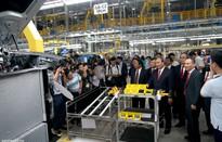 Nhà máy sản xuất ô tô Vinfast đi vào sản xuất