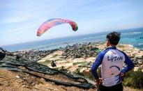 Gần 100 phi công tham gia giải dù lượn tại Lý Sơn