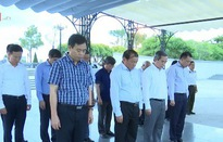 Đồng chí Nguyễn Văn Bình tri ân các anh hùng liệt sỹ tại Quảng Trị