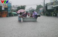 Mưa lũ gây ngập nặng tại Đồng Nai, Phú Quốc