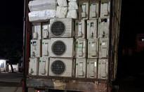 Quảng Bình: Thu giữ hàng trăm điều hòa nhiệt độ cũ