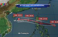 Áp thấp nhiệt đới di chuyển nhanh, có thể mạnh lên thành bão
