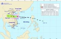 Bão số 4 hướng thẳng về đất liền Bắc miền Trung