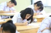 Học sinh lớp 12 tại Hà Nội bắt đầu làm bài khảo sát chất lượng