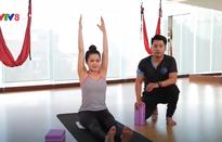 Bài tập yoga đơn giản cho mẹ bầu tháng cuối giảm mệt mỏi