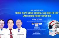GLTT: Thông tin về virus Corona, các bệnh hô hấp - Cách phòng ngừa và điều trị