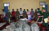 Bắt 5 đối tượng vận chuyển gần 15.000 gói thuốc lá lậu ở Kiên Giang