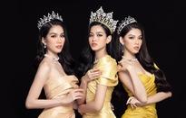 Hoa hậu Đỗ Thị Hà đọ sắc bên hai Á hậu sau 1 tháng đăng quang