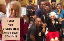 Cụ bà 101 tuổi chiến thắng ung thư và 2 đại dịch