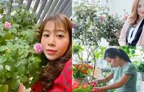 Ban công ngập hoa của các nữ phóng viên, biên tập viên VTV
