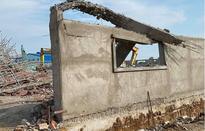 Sập công trình ở Đồng Nai