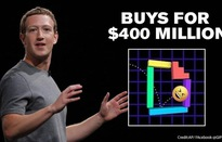 """Facebook """"thâu tóm"""" GIPHY với giá 400 triệu USD"""