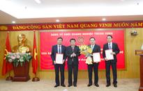 Đảng ủy Khối Doanh nghiệp Trung ương công bố và trao Quyết định của Ban Thường vụ về công tác cán bộ