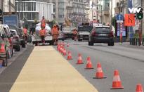 Brussels bố trí lại giao thông để bảo đảm giãn cách