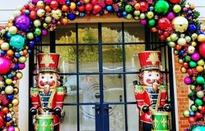 """""""Sao"""" trang trí nhà cửa rất đẹp trong mùa giáng sinh"""