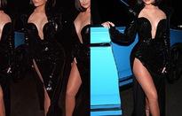 """Kylie Jenner diện váy xẻ cao """"bất tận"""""""