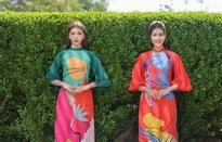 Á hậu Phương Anh, Ngọc Thảo gợi ý diện áo dài Tết nhiều màu
