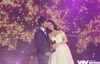 Quỳnh Kool hóa cô dâu e ấp bên chú rể Thanh Sơn