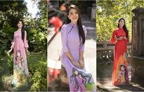 Hoa hậu Tiểu Vy đẹp tinh khôi với áo dài Tết