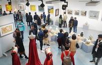 Chào Xuân mở màn khu triển lãm nghệ thuật Art Gallery của SV Kiến Trúc