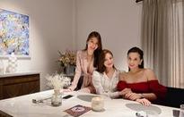 """Lã Thanh Huyền hội ngộ nhóm chị em trong """"Tình yêu và tham vọng"""""""