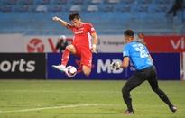 ẢNH: Quế Ngọc Hải trở lại ghi bàn, CLB Viettel có chiến thắng đầu tiên tại V.League 2021