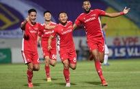ẢNH: CLB Viettel lần đầu tiên thắng CLB Hà Nội trong trận derby thủ đô ở V.League