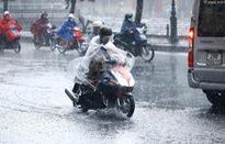 Các khu vực đều mưa dông, đề phòng lốc, sét, mưa đá