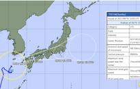 Bão Chanthu mang theo mưa lớn dự kiến đổ bộ vào Nhật Bản trong ngày 17/9
