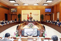 NA standing committee's 29th meeting opens