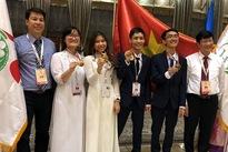 Vietnamese students win three golds at 2018 International Biology Olympiad