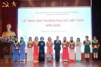 Vietnamese women honoured for positive contributions to society