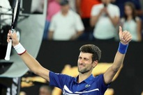 Djokovic dominates Tsonga re-match to reach third round