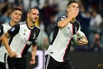 Ramsey and Ronaldo earn Juventus nervy win over Verona