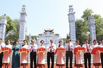 PM launches temple dedicated to President Ho's ancestors