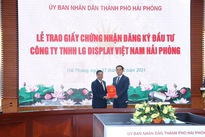 Hai Phong grants investment approval to LG display project