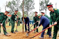 Tree planting campaign for a green Vietnam responded to nationwide