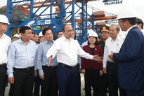 Building Cai Mep-Thi Vai port on a par with regional port