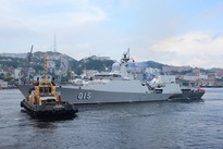 Vietnam's naval ships join Russian Navy Day parade