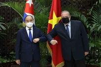 President Nguyen Xuan Phuc meets Cuban Prime Minister