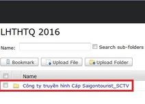 Hướng dẫn gửi file tác phẩm dự thi LHTHTQ lần thứ 36 qua Internet