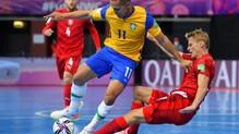 HIGHLIGHTS | ĐT Brazil 4-0 ĐT CH Czech | Bảng D VCK FIFA Futsal World Cup Lithuania 2021™