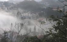 Trời nhiều mây và có sương lạnh vào sáng sớm ở Bắc miền Trung