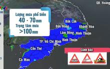 Mưa lớn tiếp diễn ở khu vực phía Nam